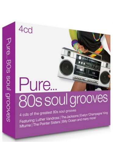 Various - Pure... 80s Soul Grooves - 4CD