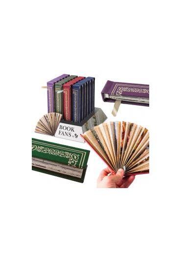 Book Fans - Purple