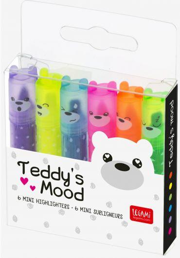Set 6 Textmarkere - Teddy's Mood