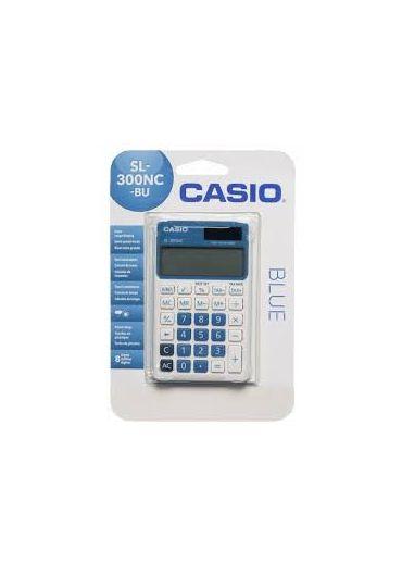 Calculator Casio portabil 8 cifre albastru