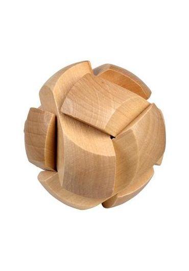 Puzzle logic din lemn Be Clever