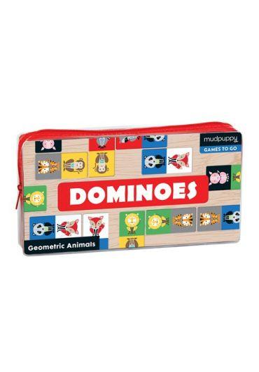 Dominoes - Geometric animals
