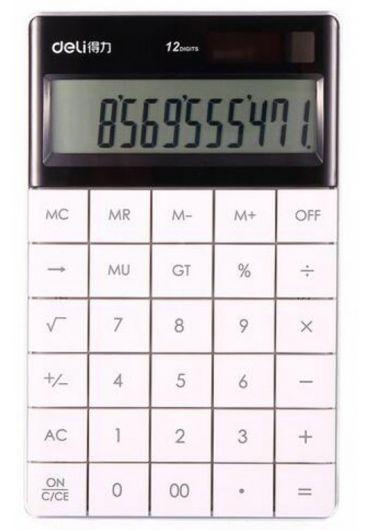 Calculator birou 12 digits alb