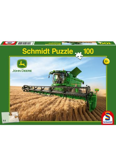 Puzzle 100 piese Combine Harvest S690