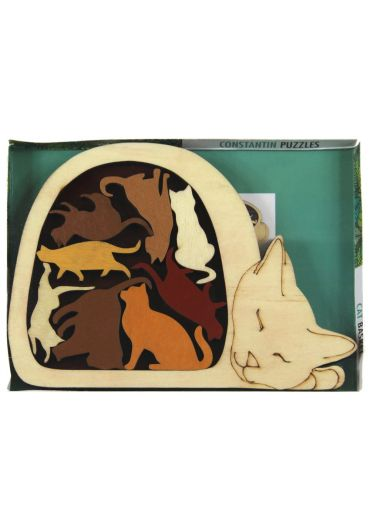 Animal puzzle - Cat basket