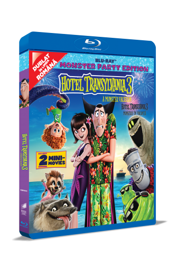 Hotel Transilvania 3: Monstrii in vacanta [Blu-Ray]