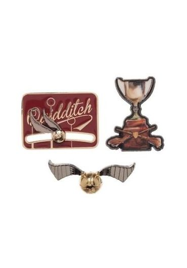 Set insigne Harry Potter Quidditch Cup