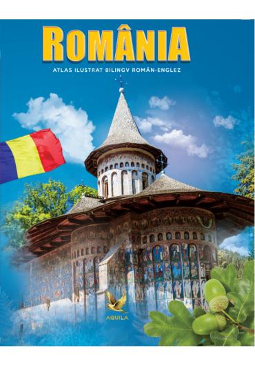 Atlas Romania bilingv ro-eng