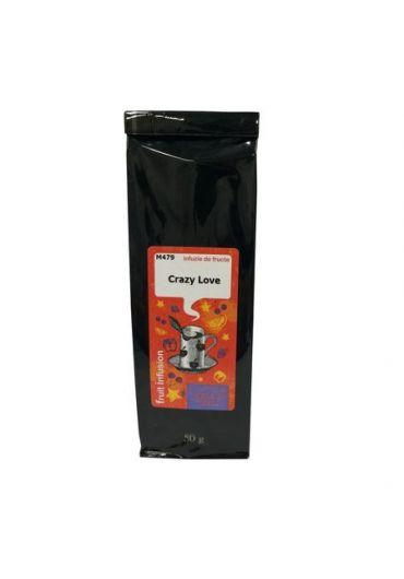 Ceai Flavoured Fruit Tea Blend Crazy Love (STRAWBERRY) M479