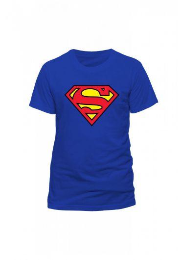Tricou Superman Logo Albastru - Marimea L