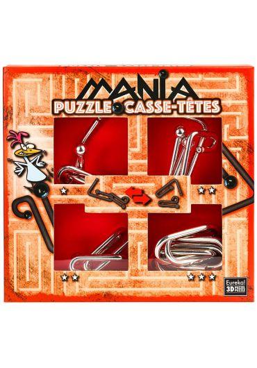 Puzzle Mania Casse-tetes Red
