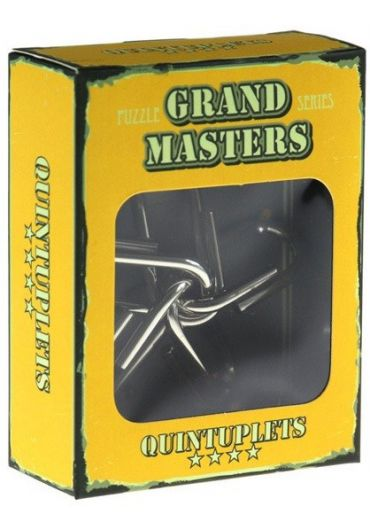 Grand Master Puzzle Quintuplets