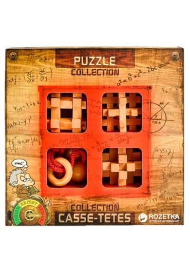3D Extreme Wooden Puzzles Colection