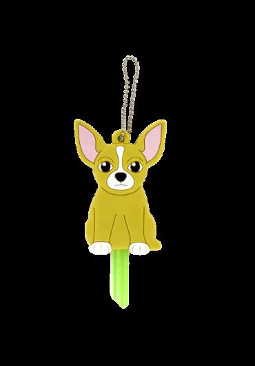 Breloc husa pentru cheie Chihuahua