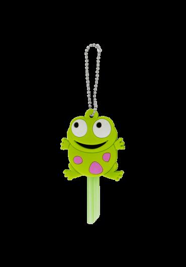 Breloc husa pentru cheie Frog