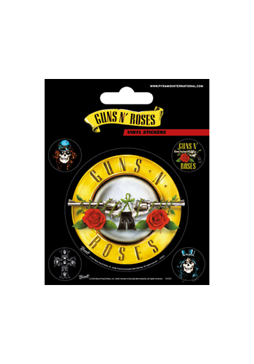 Sticker Guns n' Roses