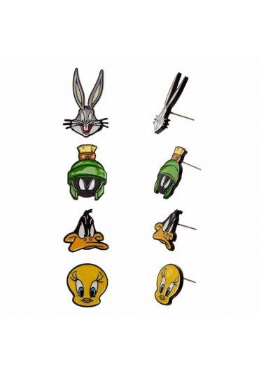 Set 4 perechi Cercei Looney Tunes