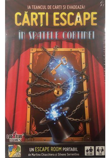 Carti Escape - In spatele cortinei