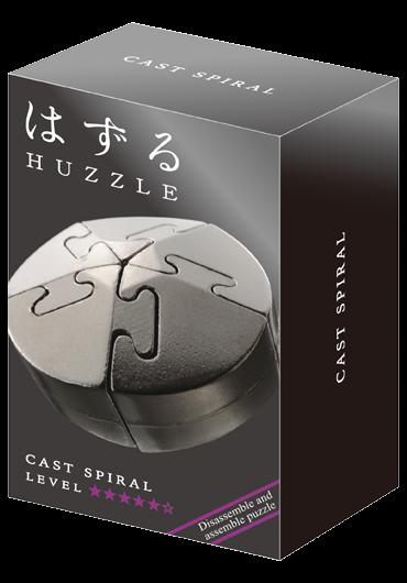Huzzle Cast Spiral Level 5