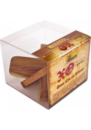 Puzzle din lemn XO