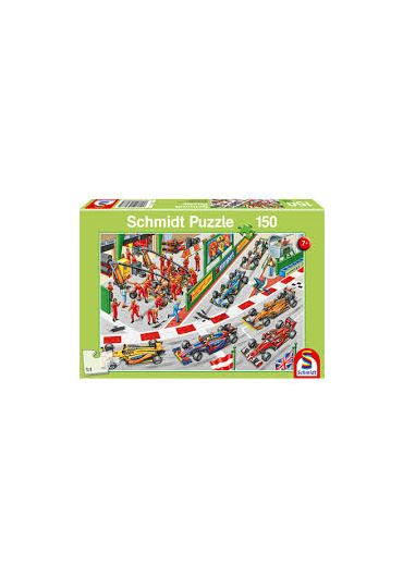 Puzzle 150 piese What Happens at a Car Race