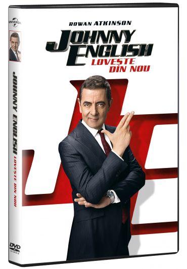 Johnny English loveste din nou DVD