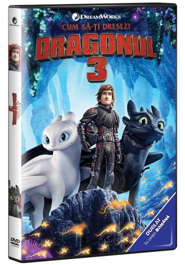 Cum sa-ti dresezi dragonul 3 DVD