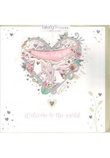 Felicitare - Birth of girl
