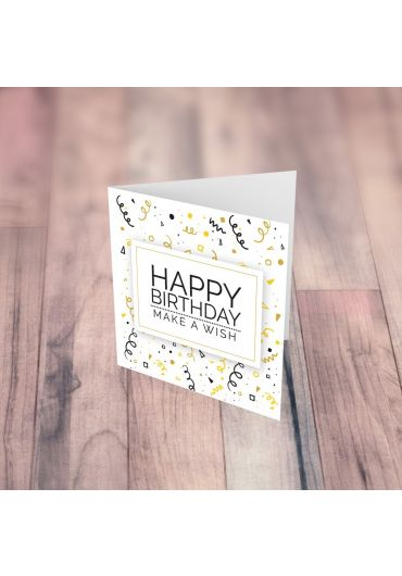 Felicitare - Happy Birthday! Make a wish!