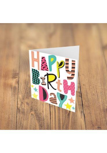 Felicitare - Happy Birthday!