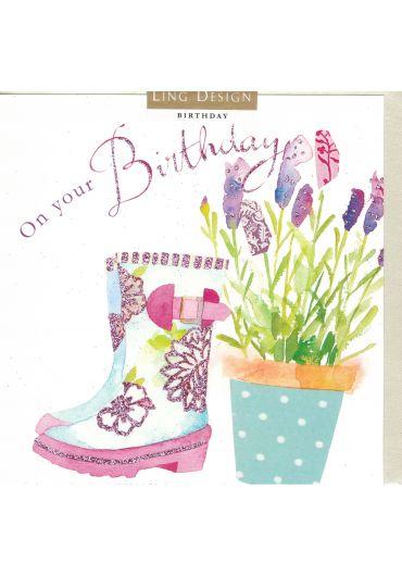 Felicitare - On your Birthday