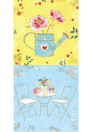 Felicitare - Tea/Garden