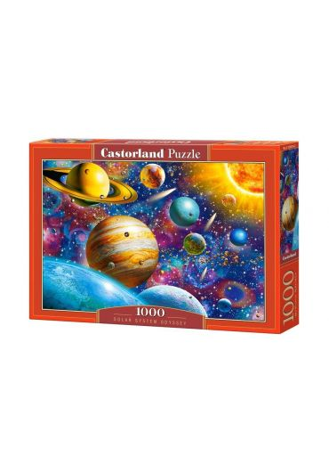 Puzzle 1000 piese Solar System Odyssey