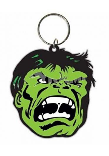 Breloc Cauciuc Hulk portret