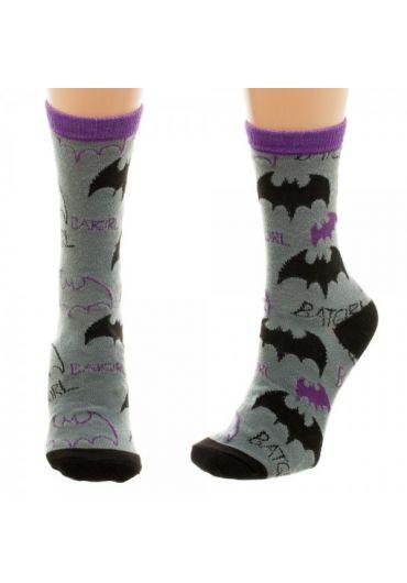 Sosete Batgirl Logo