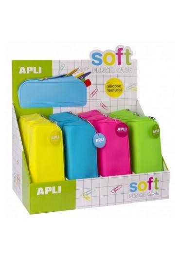Penar silicon diverse culori Soft Fluor