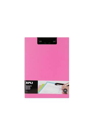 Clipboard dublu A4 roz