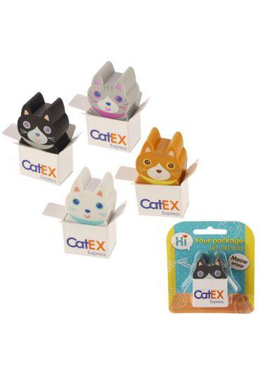 Radiera - Fun Cute Cat in a box