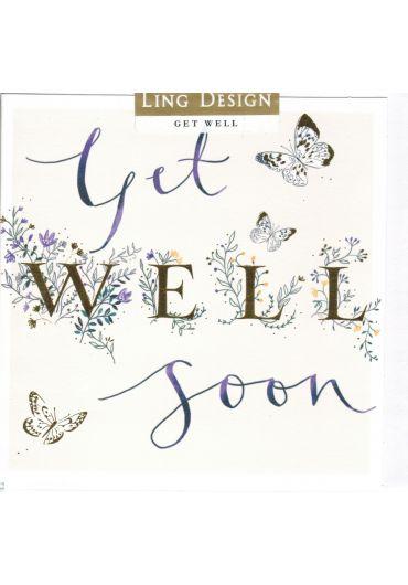 Felicitare - Get well soon