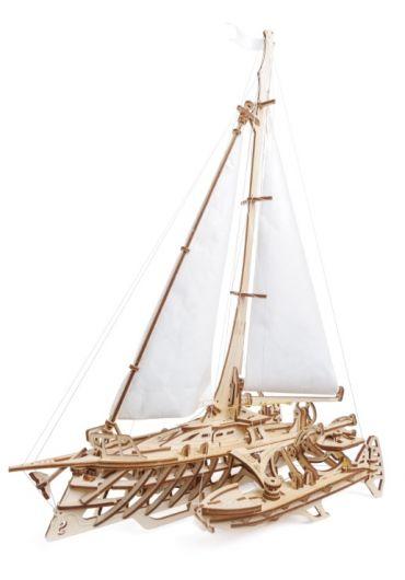 Puzzle 3D lemn - Barca Trimaran