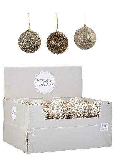 Decoratiune brad - Xmas ball gold