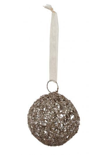 Decoratiune brad - Xmas ball champagne
