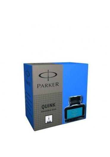 Calimara cerneala Parker Quink albastru washable 57 ml