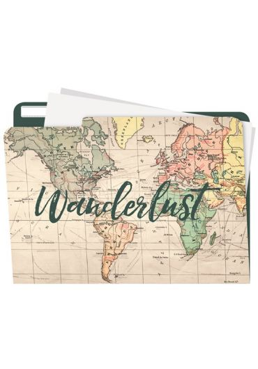 Mapa - Manila Folders - Travel