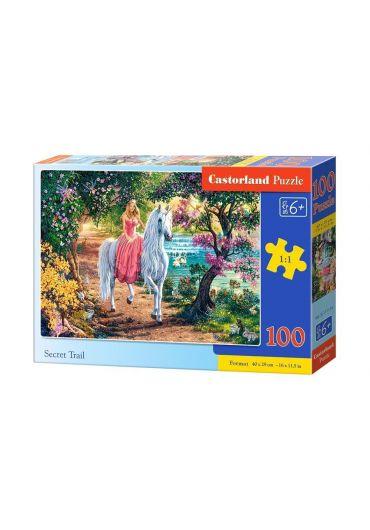 Puzzle 100 piese Secret Trail