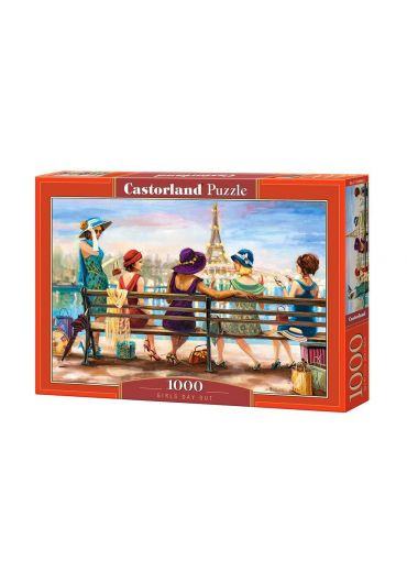 Puzzle 1000 piese Girls Day Out