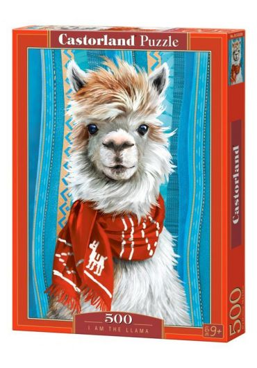 Puzzle 500 piese I am the Llama