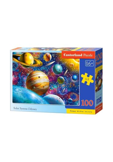 Puzzle 100 piese Solar System Odyssey