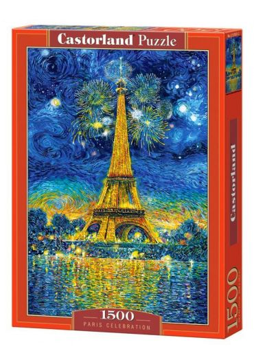 Puzzle 1500 piese Paris Celebration