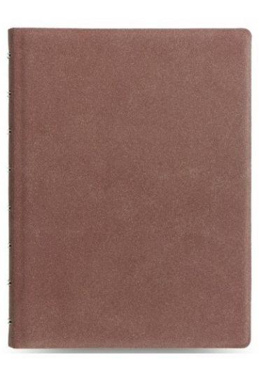 Notebook A5 Architexture cu spirala si rezerve - Terracotta